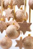 Рождество Оформление рождества и поздравительная открытка Xmas символа Стоковое Изображение RF