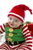 рождество первое babys стоковое изображение