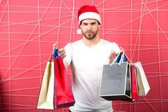 Рождество, подарок Нового Года, присутствующий Стоковое Фото