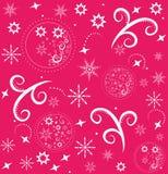 рождество предпосылки безшовное Стоковое Изображение