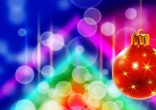 рождество предпосылки горизонтальное Стоковое Изображение RF