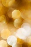 рождество предпосылки золотистое Стоковая Фотография