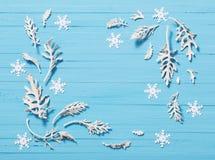 рождество предпосылки красивейшее голубое Стоковая Фотография