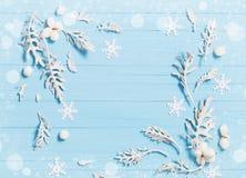 рождество предпосылки красивейшее голубое Стоковые Фото