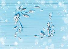 рождество предпосылки красивейшее голубое Стоковые Фотографии RF