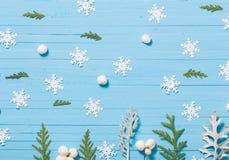 рождество предпосылки красивейшее голубое Стоковые Изображения