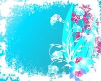 рождество предпосылки флористическое Стоковые Изображения RF