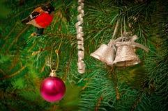рождество предпосылки Стоковые Изображения