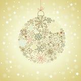 рождество предпосылки Стоковое Изображение