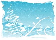 рождество предпосылки grungy Стоковая Фотография RF