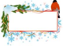 рождество птицы знамени Стоковая Фотография