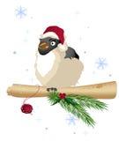 рождество птицы Иллюстрация вектора