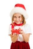 рождество ребенка коробки счастливое Стоковое Фото