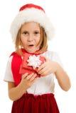 рождество ребенка коробки счастливое Стоковые Фотографии RF