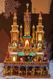 Рождество рождества, Краков, Польша Стоковые Фотографии RF
