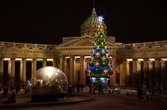 Рождество рождества на соборе Казани Стоковые Изображения