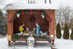 Рождество рождества на улице Стоковое Фото