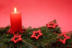 рождество свечки Стоковые Изображения RF