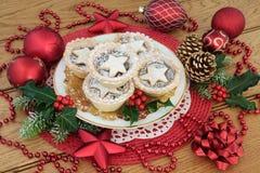 Рождество семенит пироги пирога Стоковые Изображения