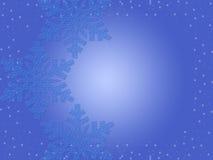 рождество сини предпосылки Стоковое фото RF