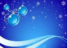 рождество сини предпосылки Стоковое Изображение