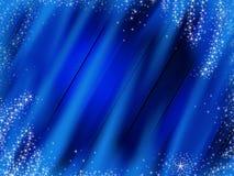 рождество сини предпосылки Стоковая Фотография RF