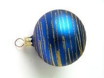 рождество сини шарика Стоковые Изображения RF