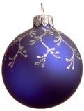рождество сини шарика Стоковая Фотография RF