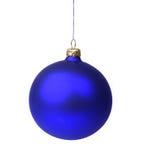 рождество сини bauble Стоковое Изображение