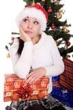 рождество счастливое Стоковые Изображения RF