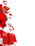 рождество счастливый santa Стоковое Фото