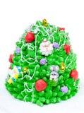 рождество торта любит вал Стоковая Фотография