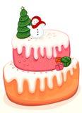рождество торта Стоковые Фотографии RF