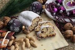 рождество торта Стоковое Изображение