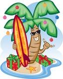 рождество тропическое Бесплатная Иллюстрация