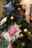 рождество украсило вал игрушек Стоковая Фотография RF