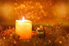 рождество украшает идеи украшения свежие домашние к стоковое фото