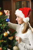 рождество украшая вал Стоковое фото RF