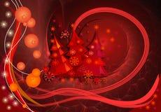 рождество чудесное иллюстрация вектора