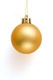 рождество шарика золотистое Стоковые Фотографии RF