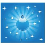 рождество шарика предпосылки Стоковые Изображения RF