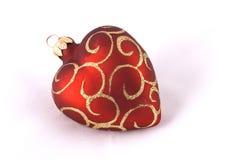 рождество шарика услышало красный цвет Стоковое фото RF