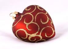 рождество шарика услышало красный цвет Стоковые Фотографии RF