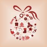 рождество шарика Стоковая Фотография RF