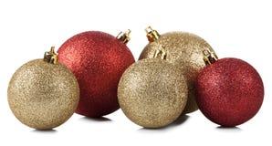 рождество шариков глянцеватое Стоковые Фотографии RF