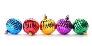 рождество шариков глянцеватое Стоковые Изображения