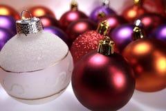 рождество шариков цветастое стоковое изображение