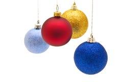 рождество шариков цветастое стоковые изображения