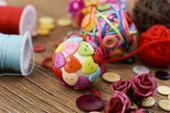 рождество шариков handmade Стоковая Фотография RF