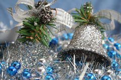 рождество 2 колоколов Стоковые Фото